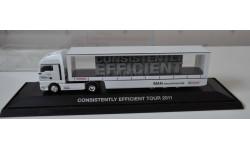 MAN 2011 Consistently Efficient Tour Herpa Возможен обмен на литературу, проспекты, масштабная модель, scale87