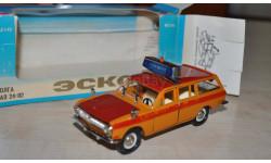 ГАЗ-24-02 А23 Эскорт Аэрофлот Возможен обмен на книги, проспекты, масштабная модель, Тантал, 1:43, 1/43