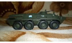 БТР-80. ВМФ СССР, масштабные модели бронетехники, Неизвестный производитель, 1:43, 1/43