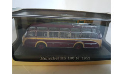 Henschel HS 100 N 1953, масштабная модель, Bus Collection