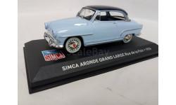 Simca Aronde Grand Large 1956, масштабная модель, Altaya, 1:43, 1/43