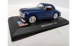Simca 8 Sport 1952, масштабная модель, Altaya, scale43