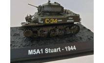 M3/M5 'Генерал Стюарт', журнальная серия Танки Мира 1:72, scale72