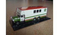 ЗИЛ-133Г1 , перевозка лошадей, масштабная модель, 1:43, 1/43, Автомобиль на службе, журнал от Deagostini