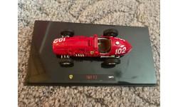 F1 Ferrari 500f2, масштабная модель, Mattel Hot Wheels, scale43