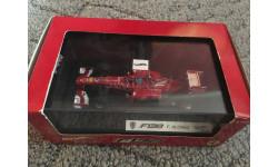 F1 Ferrari f138 Alonso, масштабная модель, Mattel Hot Wheels, scale43