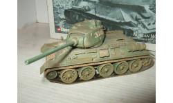 1/50 Corgi T-34/85 diecast танк модель, масштабные модели бронетехники, 1:50