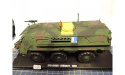 DeAgostini 1:43 TPZ1 Fuchs Germany 1998 diecast модель немецкого БТР, масштабные модели бронетехники, 1/43, DeAgostini (военная серия)