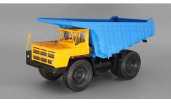 БЕЛАЗ-7527 (жёлто-синий), масштабная модель, Наш Автопром, 1:43, 1/43