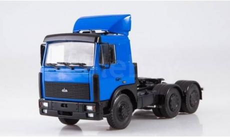 Легендарные грузовики СССР №26, МАЗ-6422, журнальная серия масштабных моделей, scale43