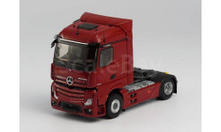 MERCEDES-BENZ new ACTROS 1845 Streamspace 2019 Red, масштабная модель, Eligor, scale43
