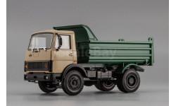 МАЗ-555102 (1988-93), бежево-зеленый, масштабная модель, Наш Автопром, scale43