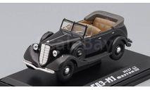 Горький М1 Фаэтон открытый, черный, масштабная модель, scale43, Наш Автопром