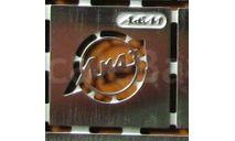 Фототравление Эмблема Ликинский автобус (никелирование), фототравление, декали, краски, материалы, Ателье Etch models, scale43