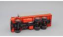 МАЗ 514 с тентом (1974), красный, масштабная модель, 1:43, 1/43, Наш Автопром