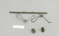 Набор зеркал для Горький 52, темно-зеленый, масштабная модель, 1:43, 1/43, DiP Models, ГАЗ