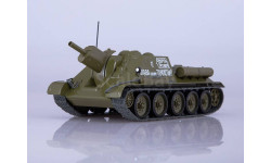 Наши Танки №7, СУ-122, журнальная серия масштабных моделей, MODIMIO Collections, 1:43, 1/43