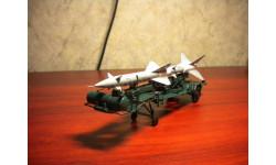 Транспортно-заряжающая машина ПР11А (с ракетой 13ДСУ),(зеленый)