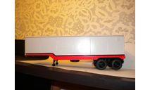 Полуприцеп ОДАЗ-935, масштабная модель, Start Scale Models (SSM), scale43