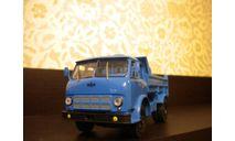 МАЗ-503А самосвал, 1975 г. (синий), масштабная модель, Наш Автопром, 1:43, 1/43