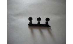 Заглушки в бамрер УрАЛ, запчасти для масштабных моделей, AVD, 1:43, 1/43