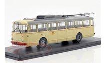 троллейбус SKODA 9TR Potsdam 1961 Beige, масштабная модель, Tatra, Premium Classixxs, scale43