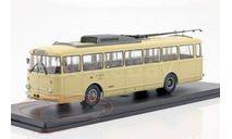 троллейбус SKODA 9TR Eberswalde 1961 Beige, масштабная модель, Tatra, Premium Classixxs, scale43