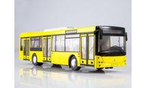 Городской автобус МАЗ-203 (жёлтый), масштабная модель, scale43, Автоистория (АИСТ)