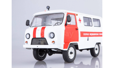 УАЗ-3962 Скорая помощь, масштабная модель, Start Scale Models (SSM), 1:18, 1/18