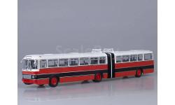 Икарус-180, красно-черный (Болгария), масштабная модель, Советский Автобус, Ikarus, scale43