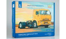 Сборная модель КАМАЗ-5460 седельный тягач, сборная модель автомобиля, AVD Models, scale43