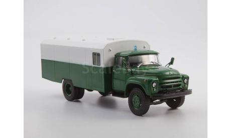 Легендарные грузовики СССР №37, ЗИЛ-130Г-АЗ, журнальная серия масштабных моделей, scale43