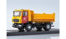 МАЗ-5550 самосвал (Мосметро), масштабная модель, Start Scale Models (SSM), scale43