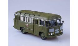 ПАЗ-672М санитарный, масштабная модель, Советский Автобус, scale43