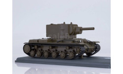 Советский тяжёлый штурмовой танк КВ-2, масштабная модель, Start Scale Models (SSM), scale43