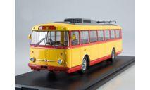 Троллейбус Skoda-9TR (красно-жёлтый), масштабная модель, Škoda, Start Scale Models (SSM), scale43
