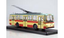 Троллейбус Skoda-14TR (красно-бежевый), масштабная модель, Start Scale Models (SSM), scale43, Škoda