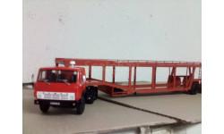 Камаз-54112+Полуприцеп-автовоз 934410 (А908)