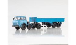 МАЗ-520 с полуприцепом МАЗ-5205, масштабная модель, Наш Автопром, 1:43, 1/43