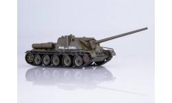 Наши Танки №4, СУ-100, журнальная серия масштабных моделей, MODIMIO Collections, 1:43, 1/43