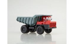 Карьерный самосвал БЕЛАЗ-540А, красный/серый, масштабная модель, Дилерские модели БЕЛАЗ, 1:43, 1/43