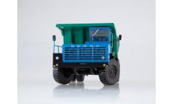 Карьерный самосвал БЕЛАЗ-540А синий/зелёный