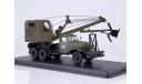 Автомобильный экскаватор-кран ДКА-0,25/5 на шасси ЗИС-151, масштабная модель, ModelPro, 1:43, 1/43