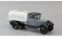 ЗиС-5 АЦ Молоко, серый / белый, масштабная модель, Наш Автопром, scale43