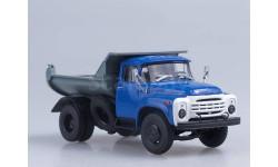 ЗИЛ-ММЗ-555, самосвал, синий/серый