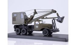 Автомобильный экскаватор-кран ДКА-0,25/5 на шасси ЗИС-151