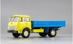 МАЗ 500А бортовой Автоэкспорт, желтый с голубым