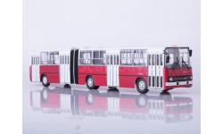 Ikarus-280.33 красно-белый, масштабная модель, 1:43, 1/43, Советский Автобус