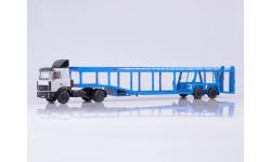 МАЗ-5432 с полуприцепом-автовозом 934410 (А908)