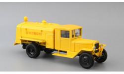 УралЗИС-5В БЗ-39М, желтый, масштабная модель, Наш Автопром, 1:43, 1/43
